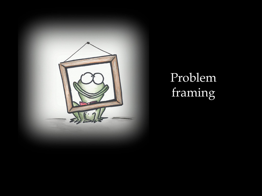 Problem framing
