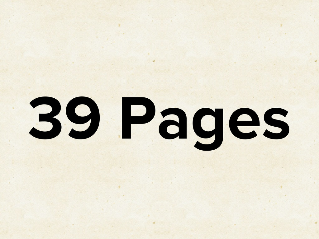 39 Pages