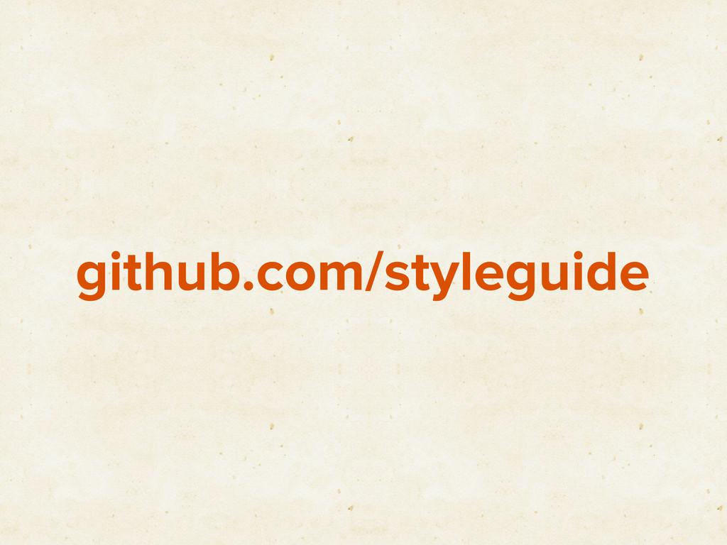github.com/styleguide
