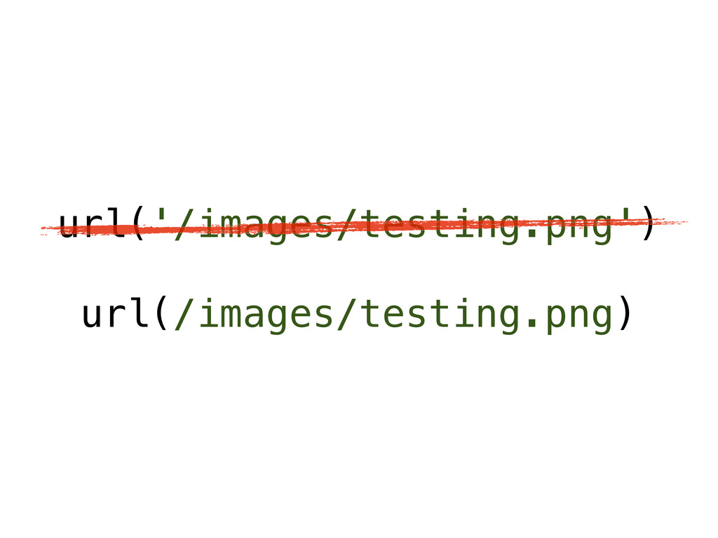 url('/images/testing.png') url(/images/testing....