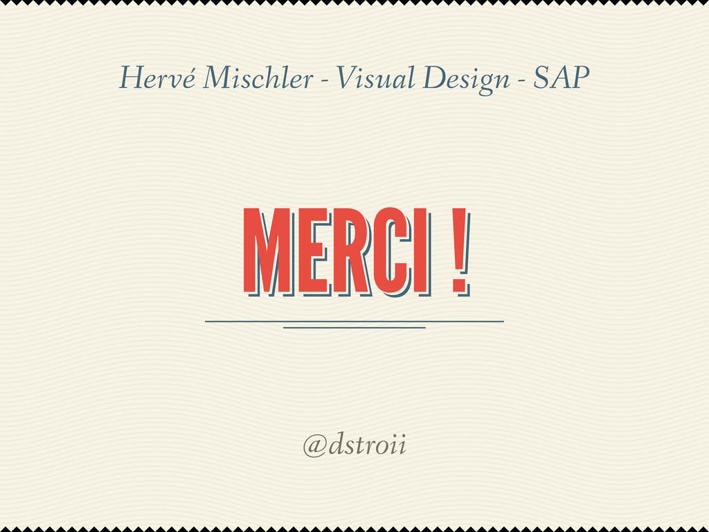 MERCI ! MERCI ! MERCI ! @dstroii Hervé Mischler...