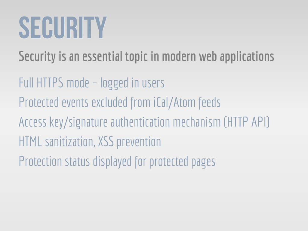 SECURITY Security is an essential topic in mode...