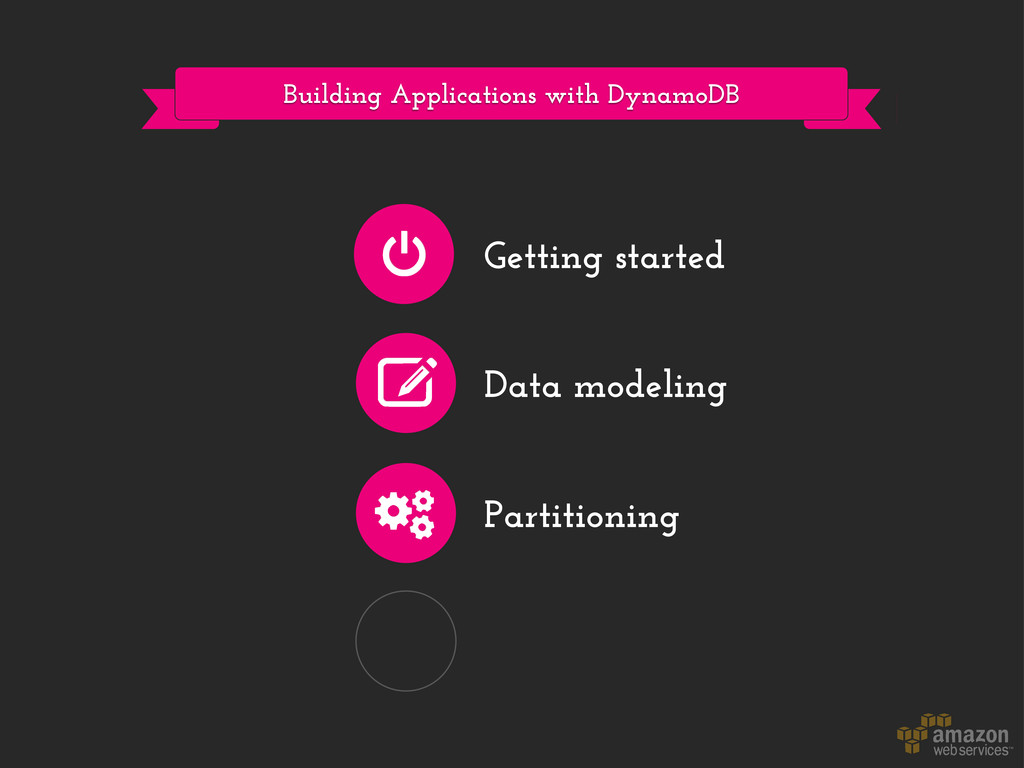 Building Applications with DynamoDB Getting sta...