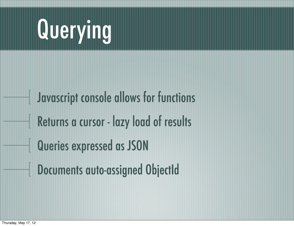Querying Javascript console allows for function...