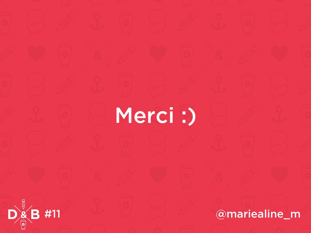 Merci :) #11 @mariealine_m