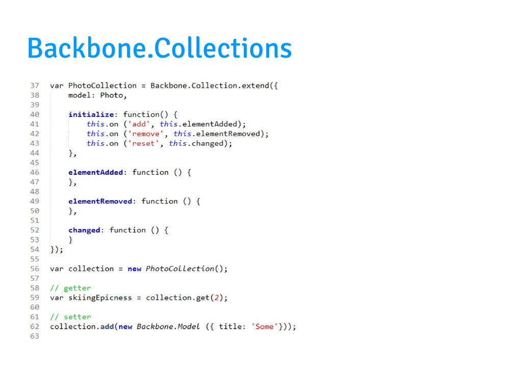Backbone.Collections