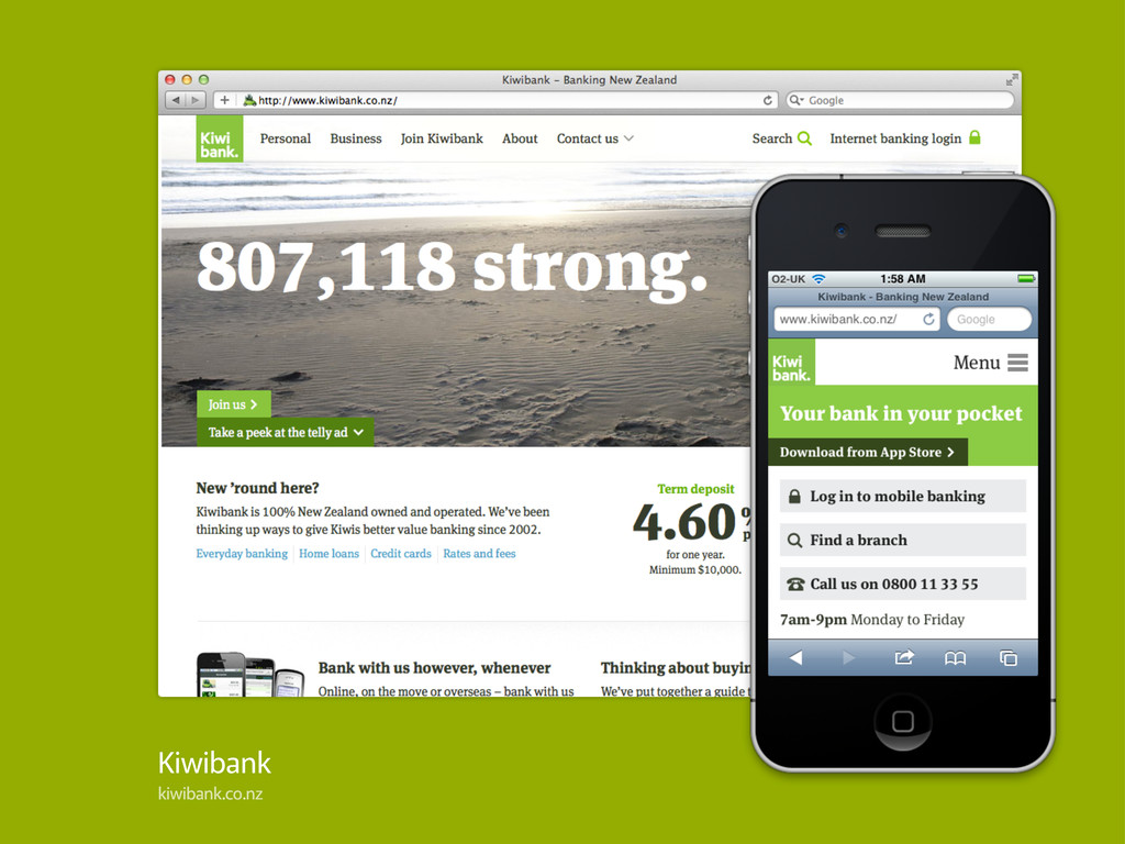 Kiwibank kiwibank.co.nz