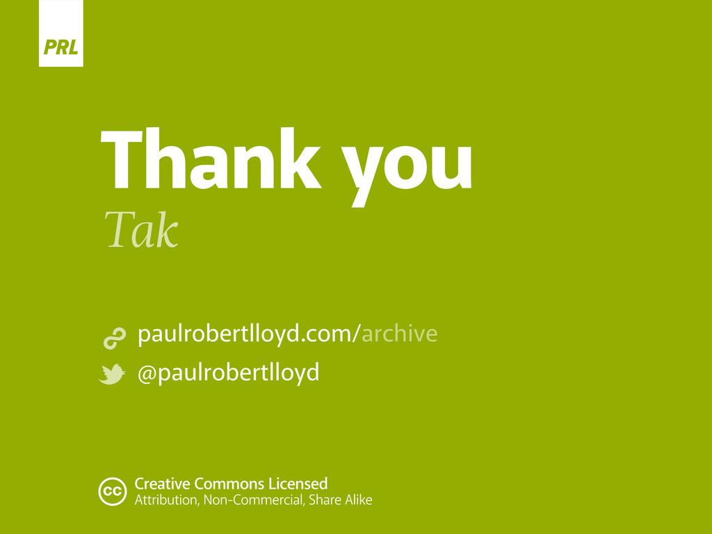 Thank you Tak paulrobertlloyd.com/archive @paul...