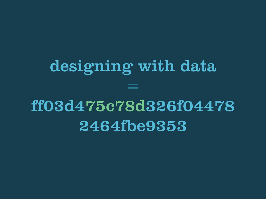 designing with data = ff03d475c78d326f04478 246...