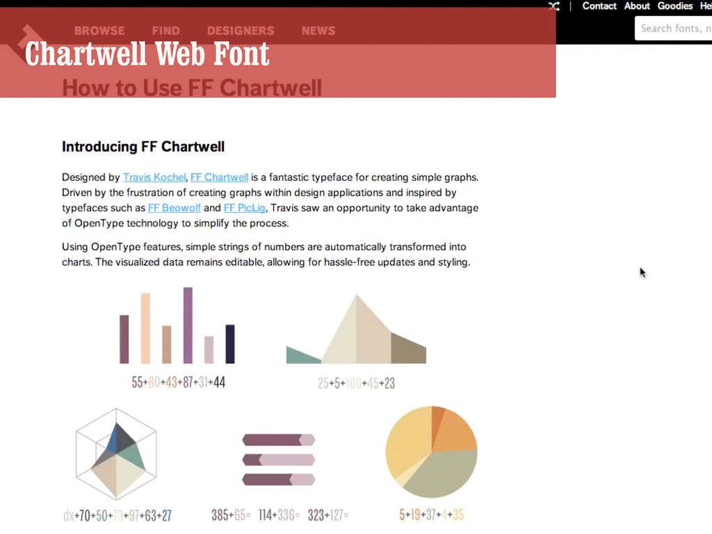 Chartwell Web Font