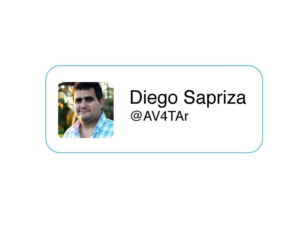 "Diego Sapriza @AV4TAr"""
