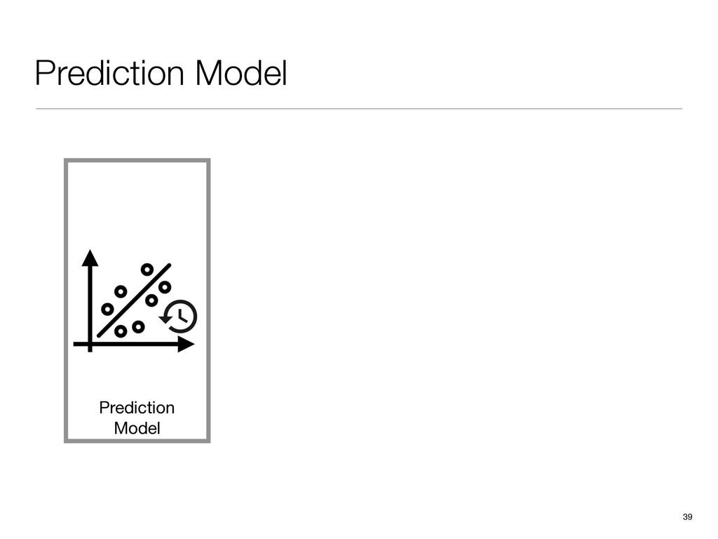 Prediction Model 39 Prediction Model
