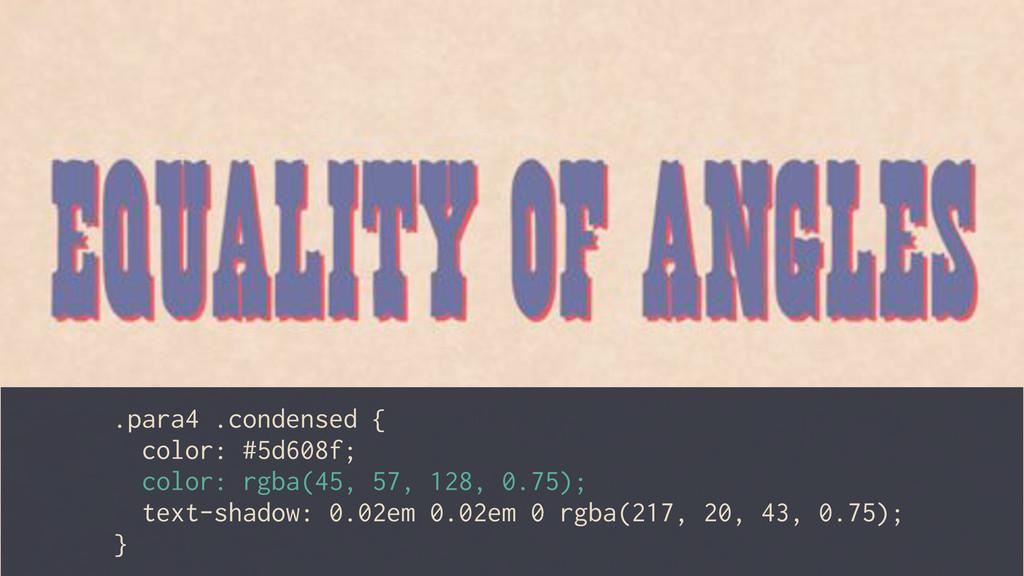 .para4 .condensed { color: #5d608f; color: rgba...
