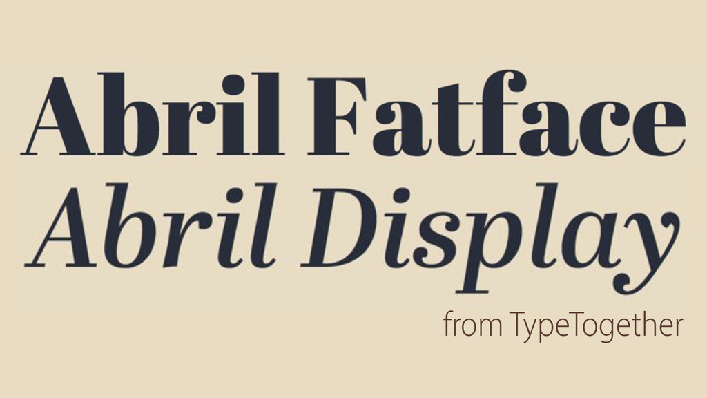 from TypeTogether