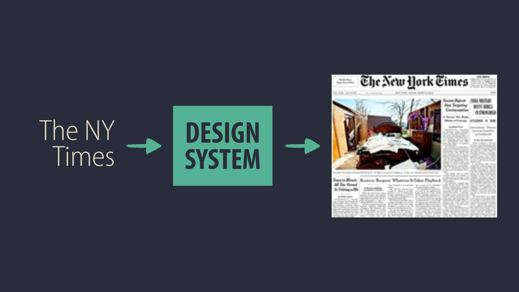 The NY Times DESIGN SYSTEM