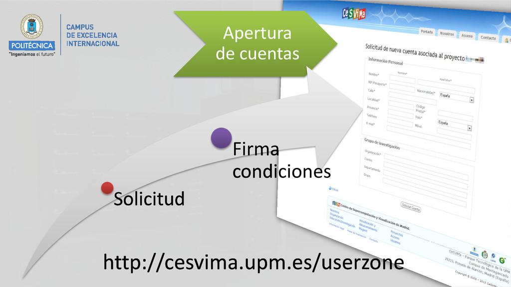 Apertura de cuentas Solicitud Firma condiciones...