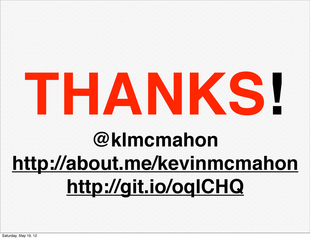THANKS! @klmcmahon http://about.me/kevinmcmahon...
