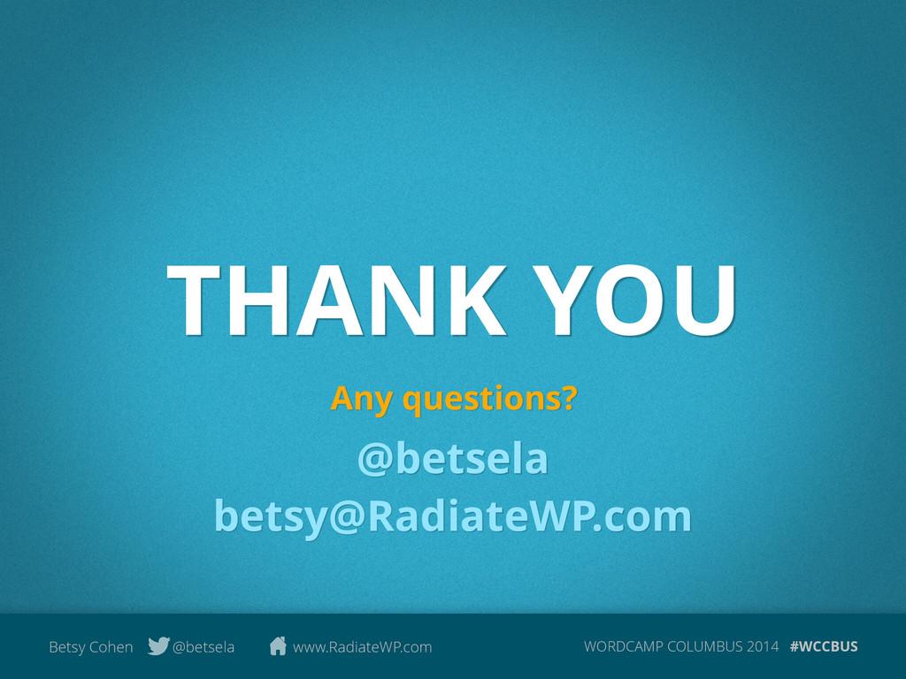 WORDCAMP COLUMBUS 2014 #WCCBUS Betsy Cohen @bet...