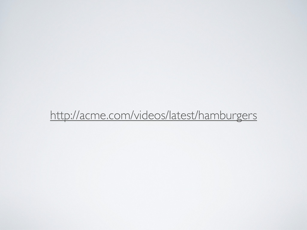 http://acme.com/videos/latest/hamburgers
