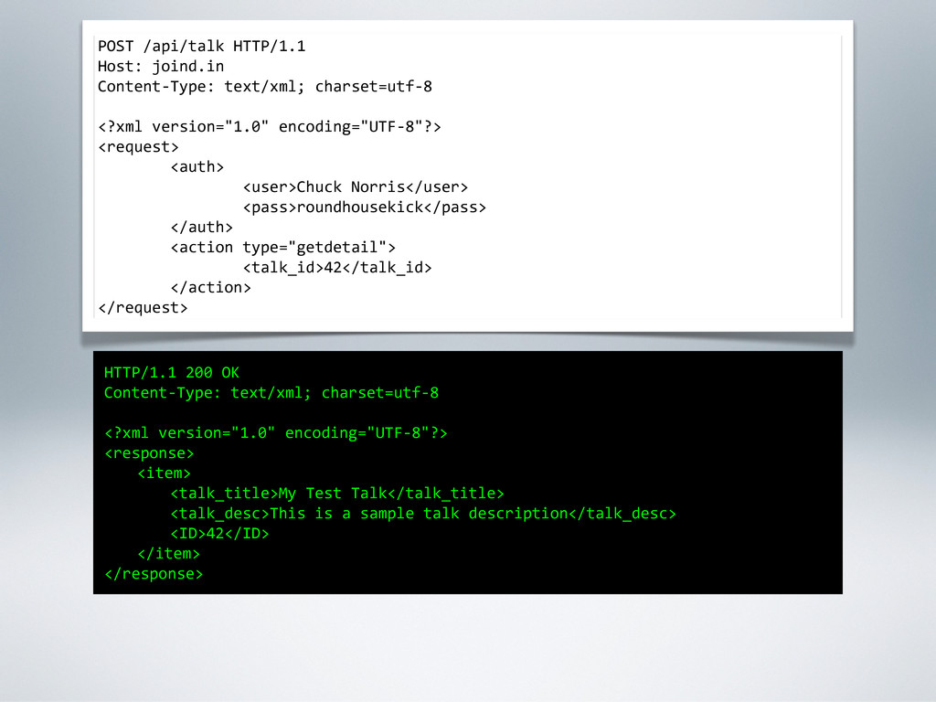 POST /api/talk HTTP/1.1 Host: joind.in Conte...