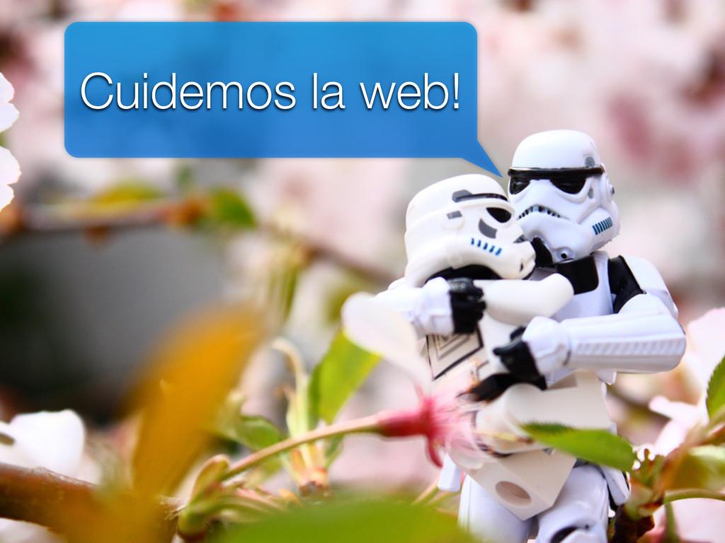 Cuidemos la web!