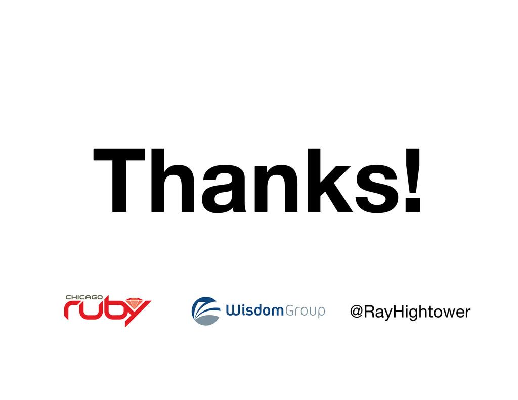 @RayHightower Thanks!