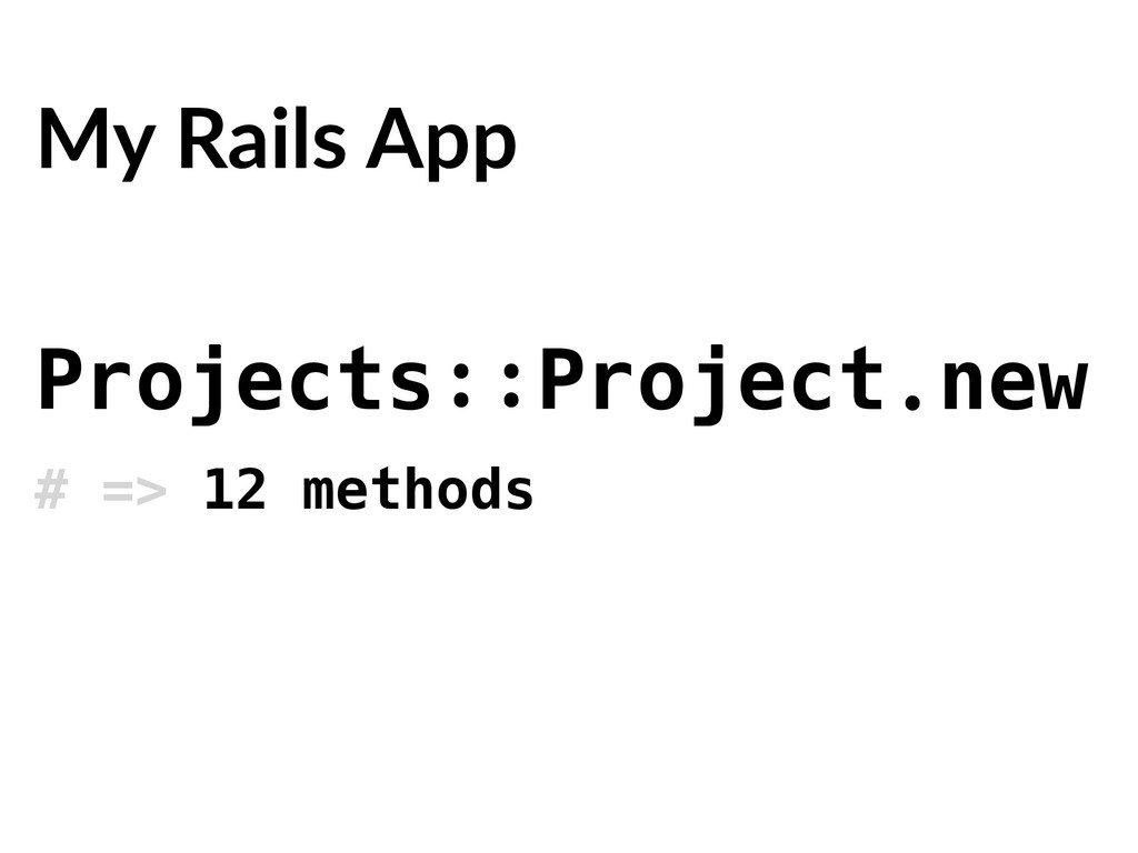 Projects::Project.new # => 12 methods My Rails ...