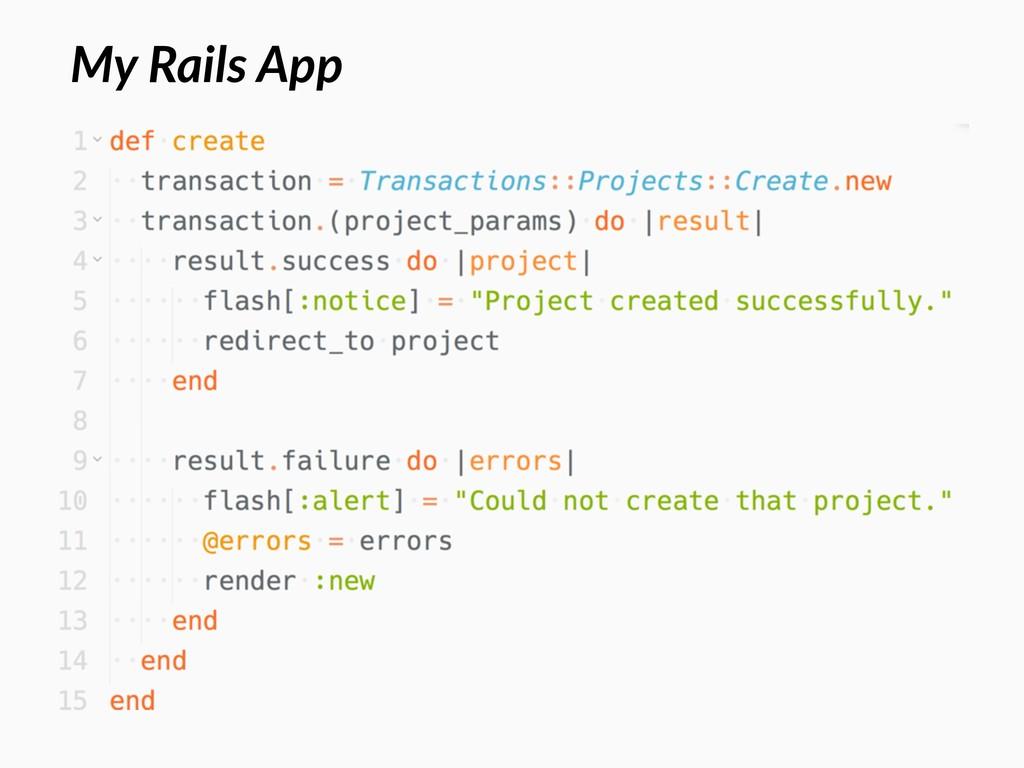 My Rails App