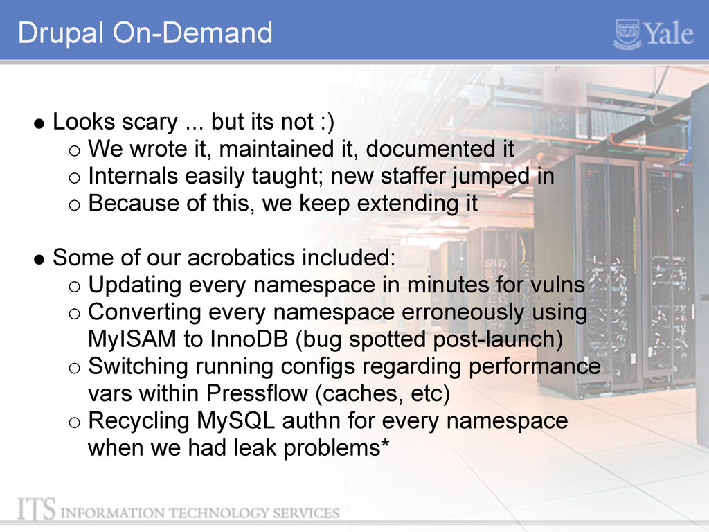 Drupal On-Demand Looks scary ... but its not :)...
