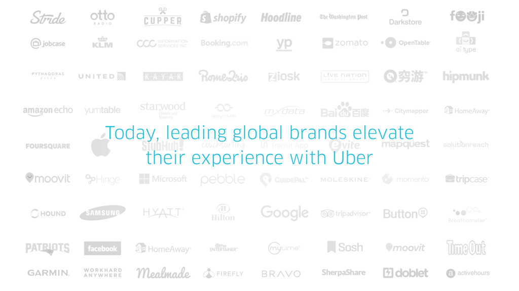 Today, leading global brands elevate their expe...