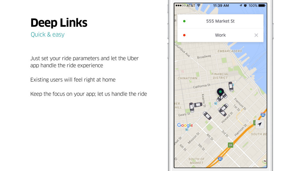 Just set your ride parameters and let the Uber ...