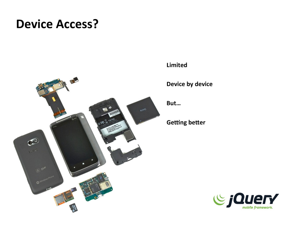 Device Access?  Limited    Device by devi...