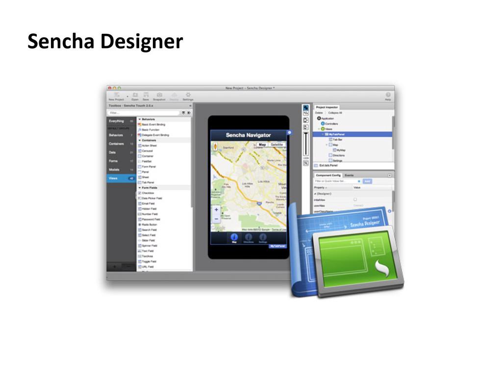 Sencha Designer