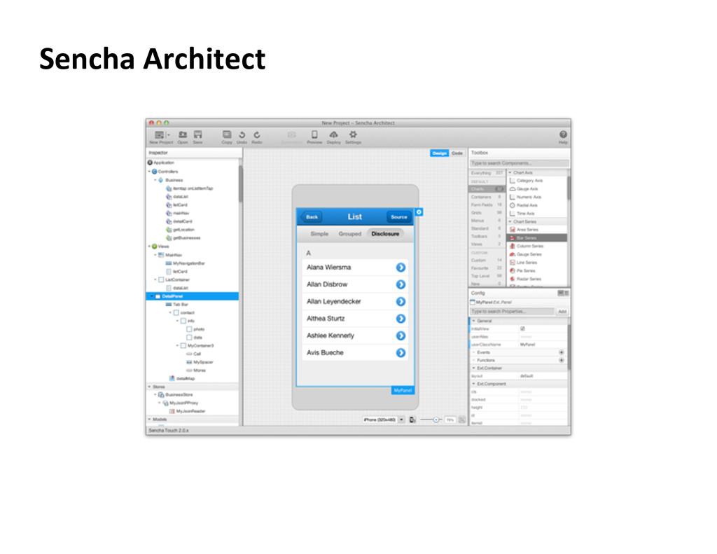 Sencha Architect