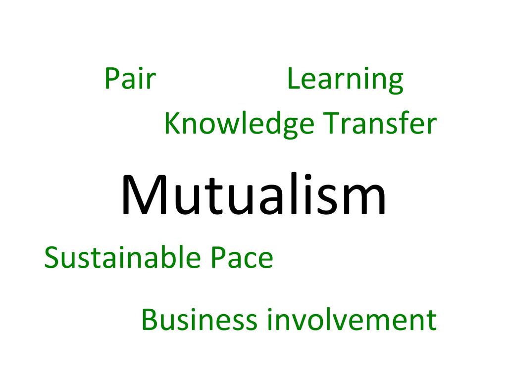 Mutualism  Pair  Knowledge Transfer ...