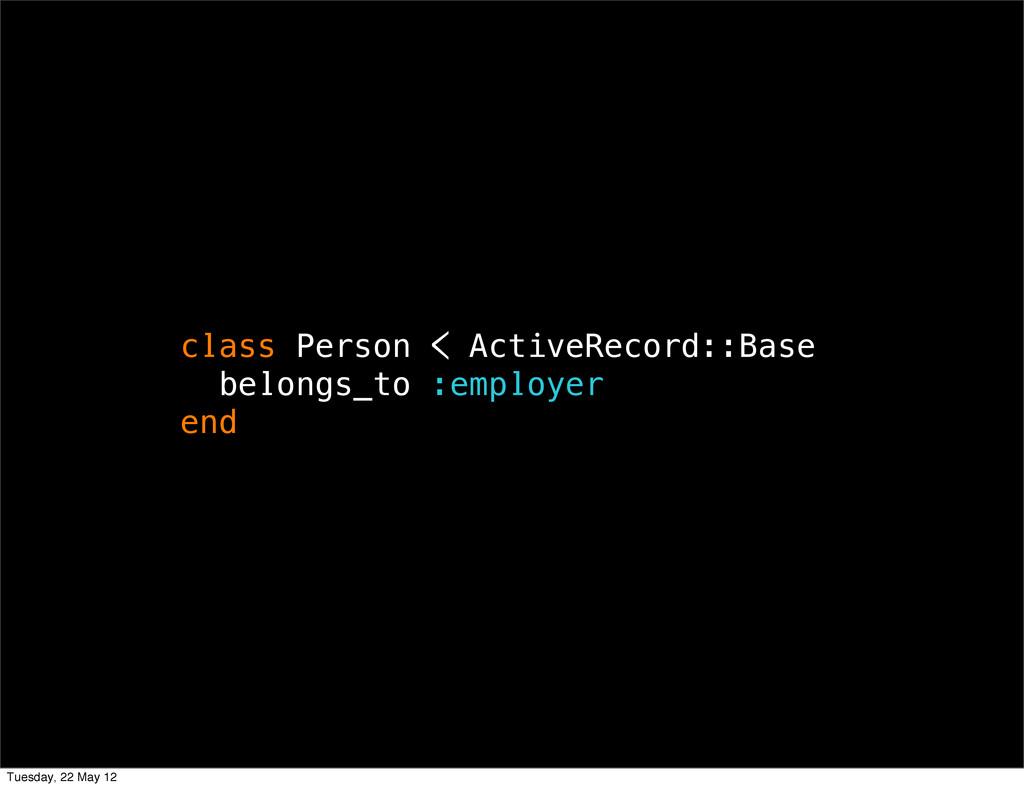 class Person < ActiveRecord::Base belongs_to :e...