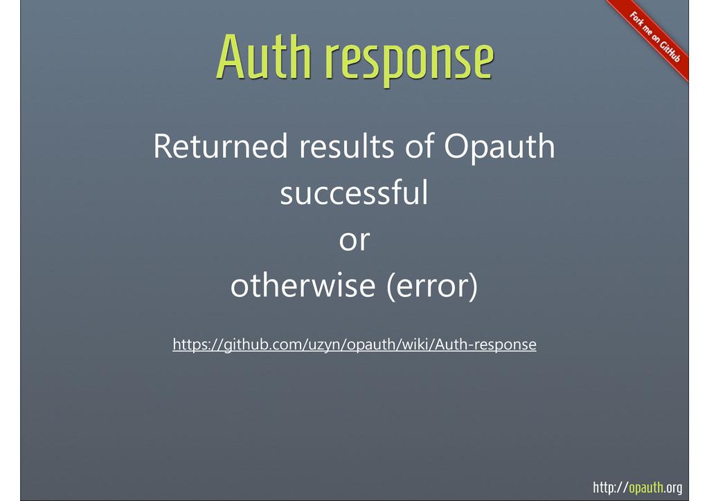 http://opauth.org Auth response https://github....