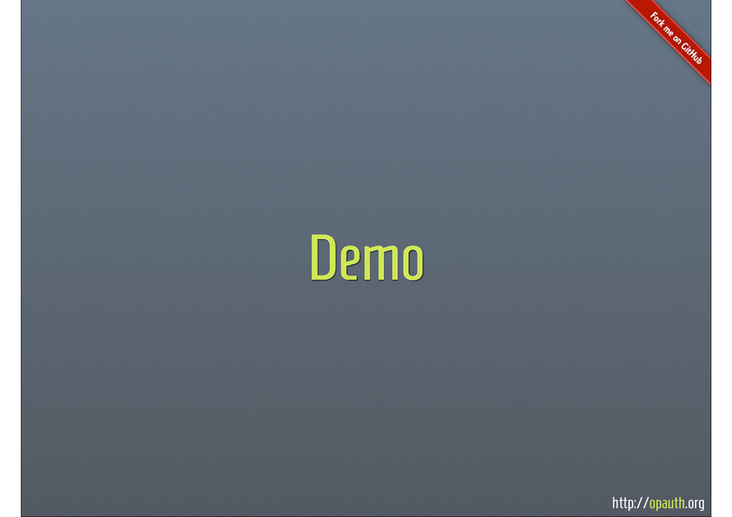 http://opauth.org Demo