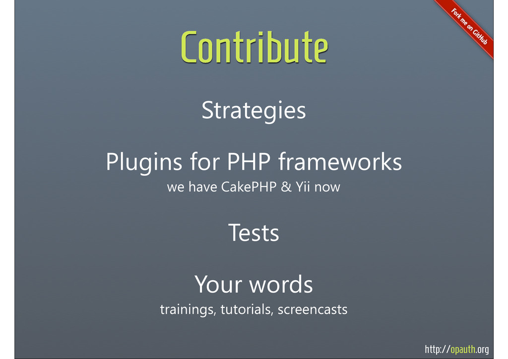http://opauth.org Contribute Plugins for PHP fr...