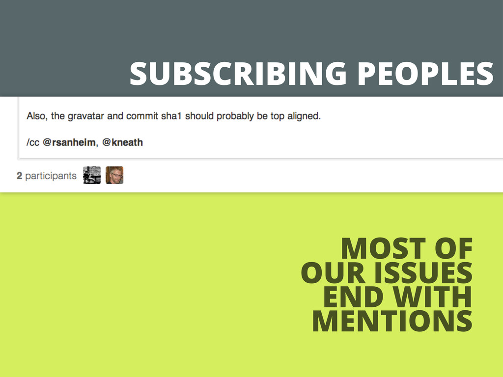 SUBSCRIBING PEOPLES MOST OF OUR ISSUES END WITH...