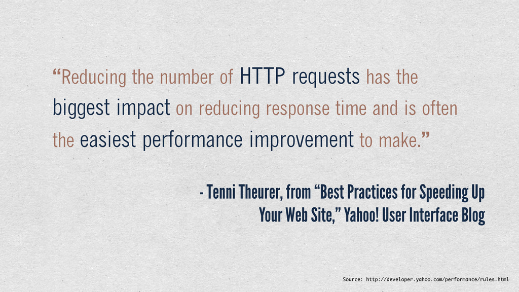 "- Tenni Theurer, from ""Best Practices for Speed..."