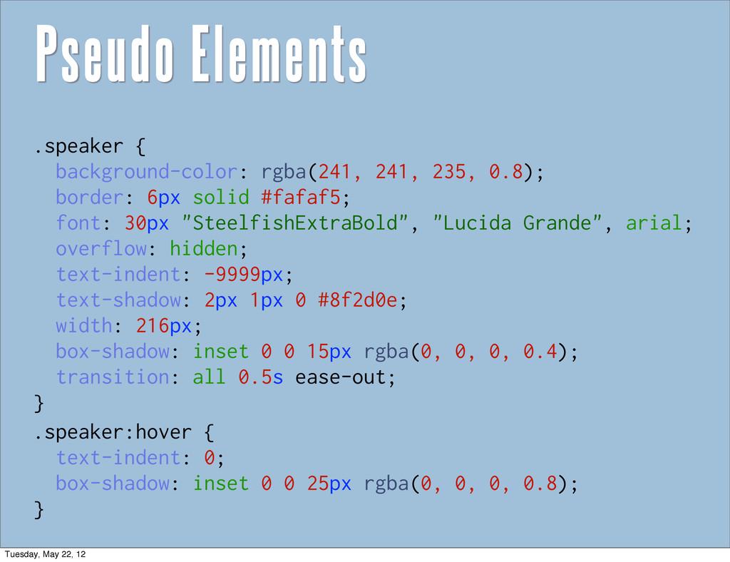 .speaker { background-color: rgba(241, 241, 235...