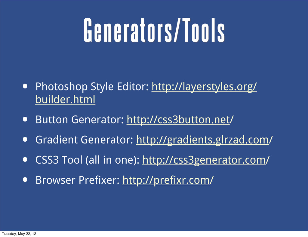 • Photoshop Style Editor: http://layerstyles.or...