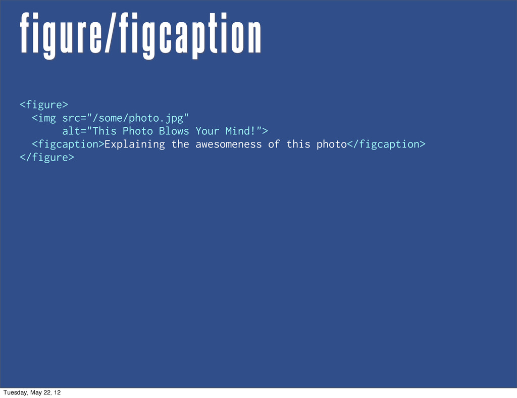"figure/figcaption <figure> <img src=""/some/phot..."
