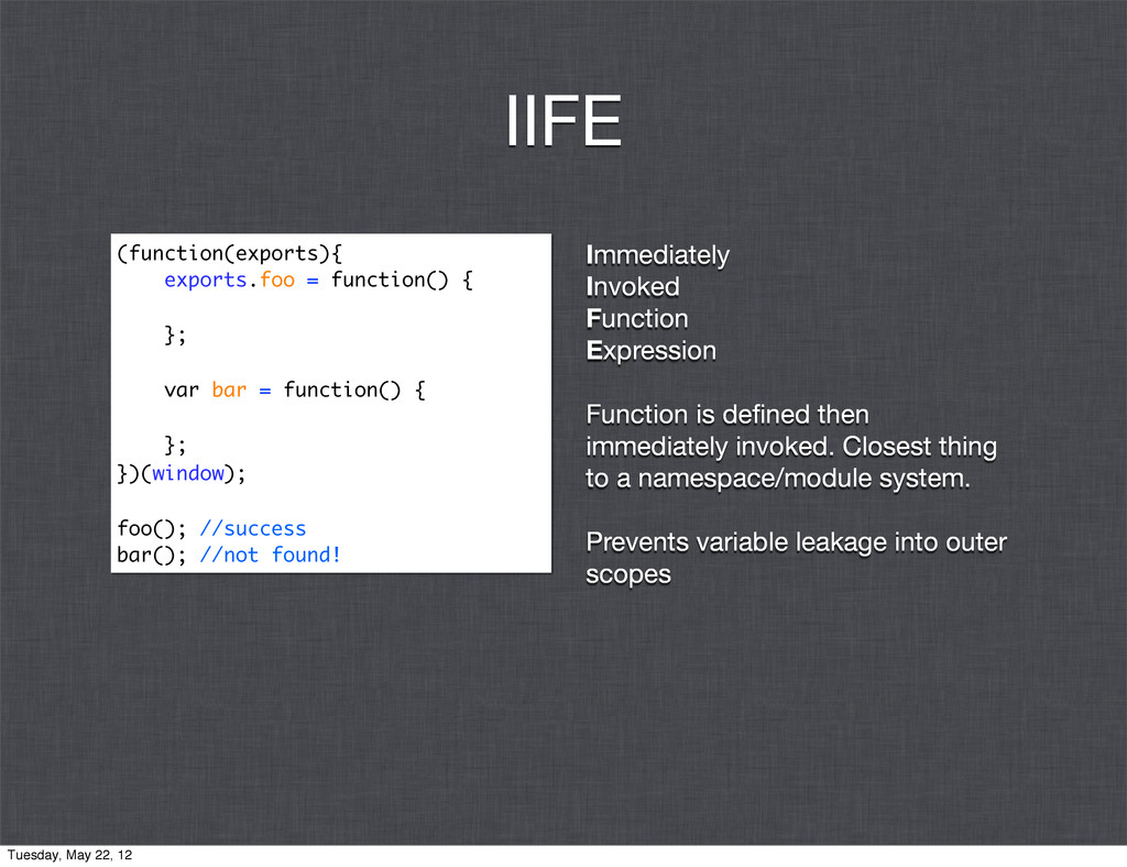 Immediately Invoked Function Expression Functio...