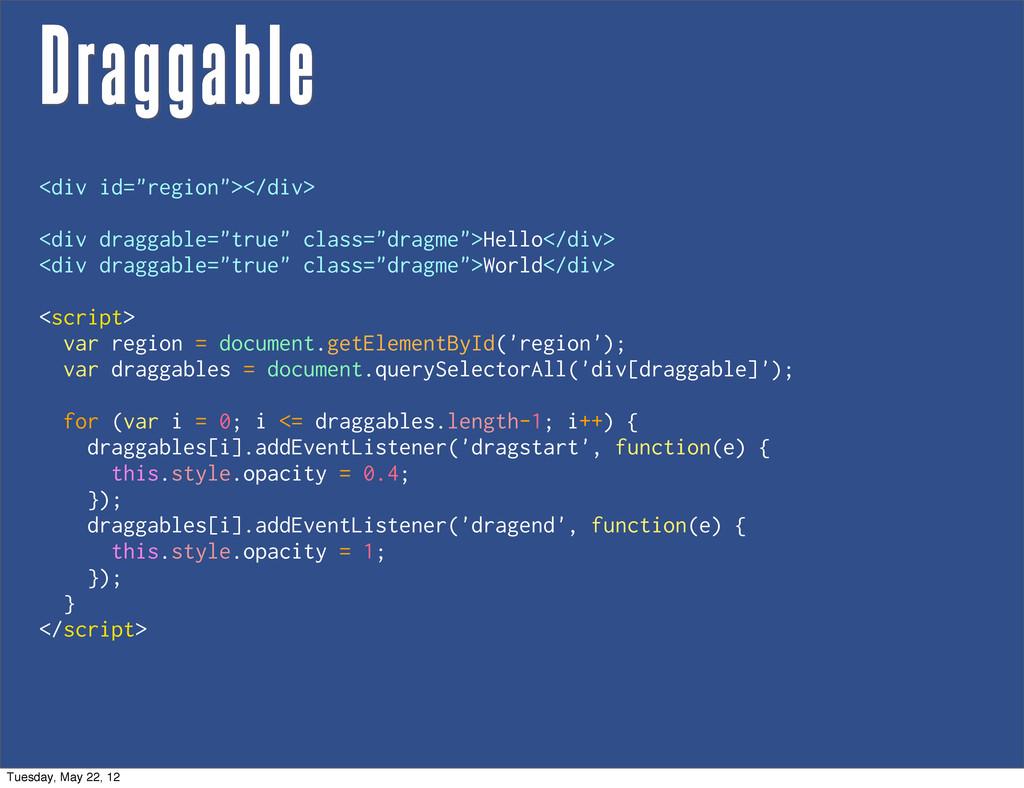 """Draggable <div id=""""region""""></div> <div draggabl..."""