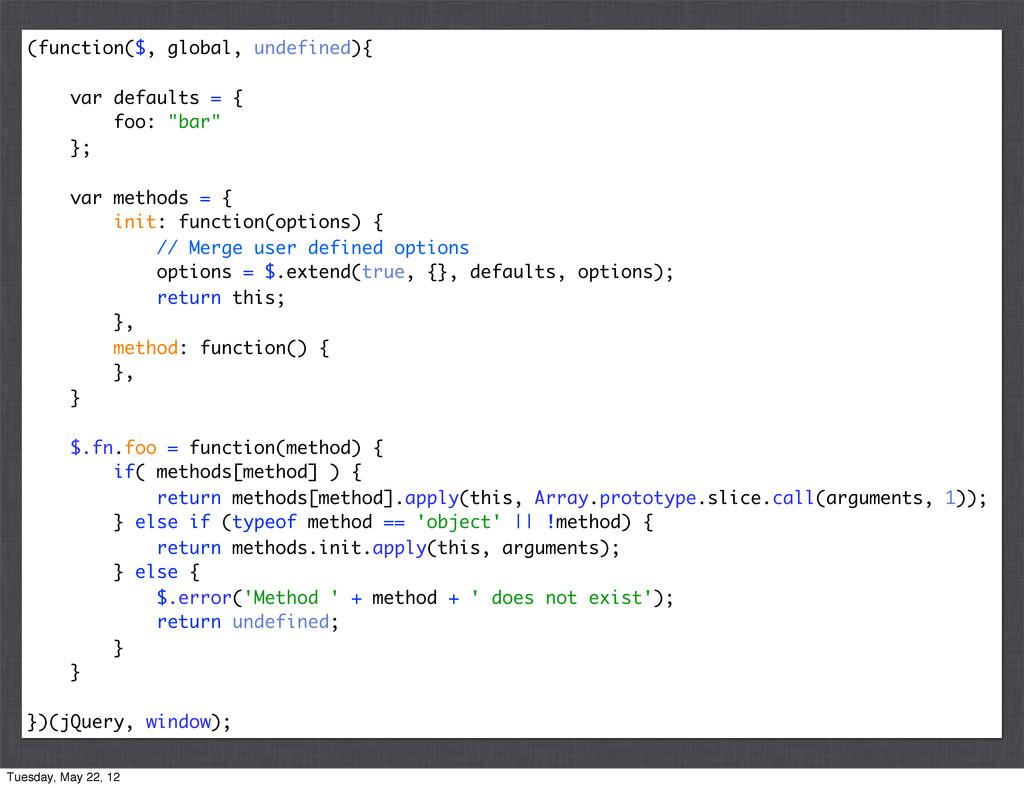 (function($, global, undefined){ var defaults =...