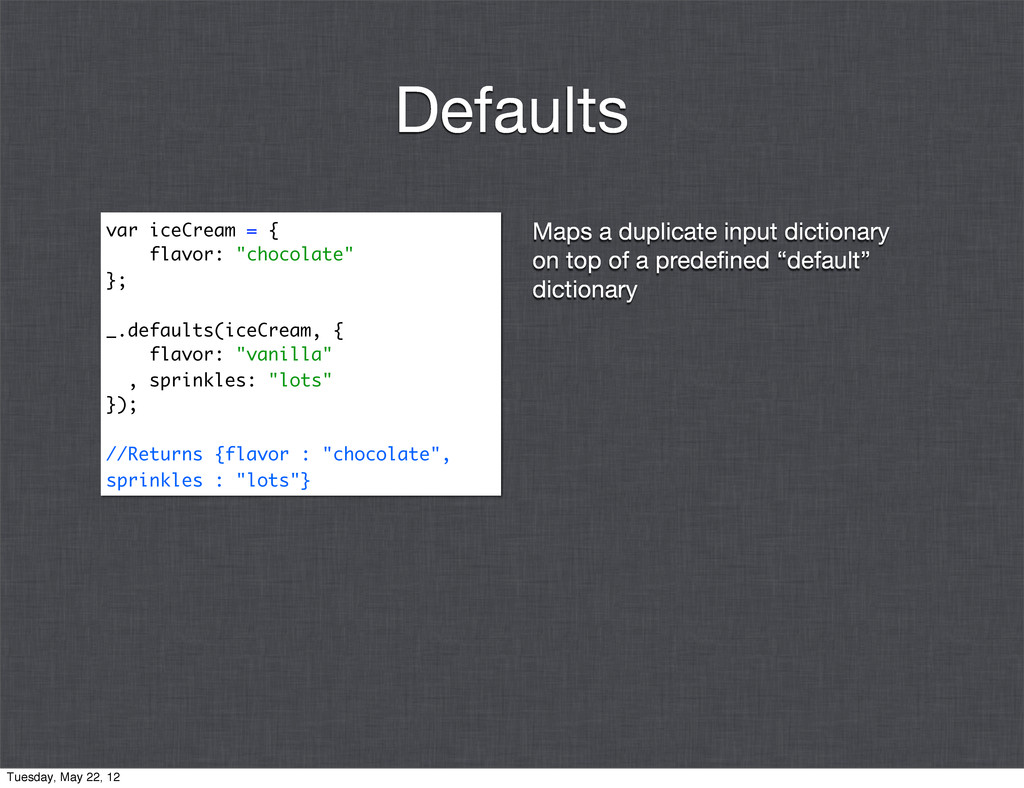 Maps a duplicate input dictionary on top of a p...