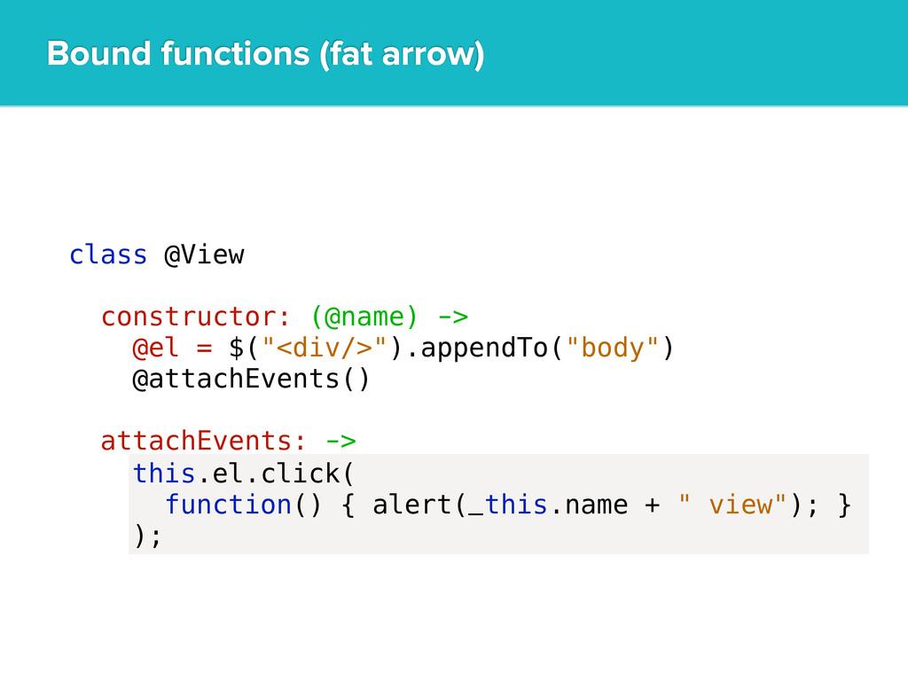 """class @View constructor: (@name) -> @el = $(""""<d..."""