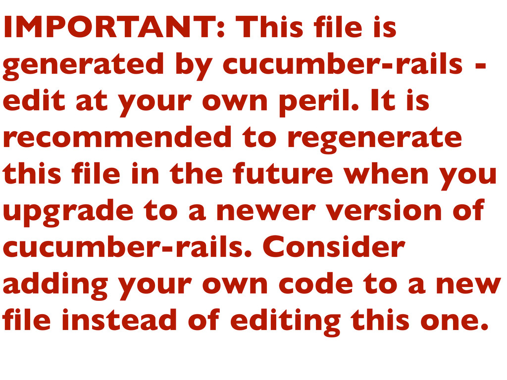 IMPORTANT: This file is generated by cucumber-ra...